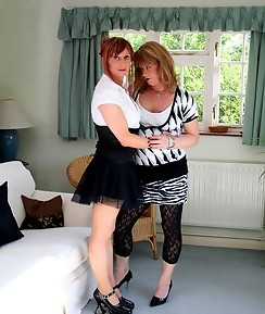 Lucimay has a lot of fun with this cock sucking tranny slut
