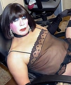 This is a great selection of hard crossdresser cocks