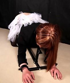 Lucimay loves her ballet dress but loves a bit of BDSM more