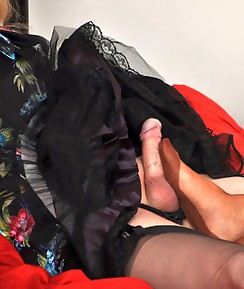 Nylon Jane really gets this TGirl feeling horny and good.