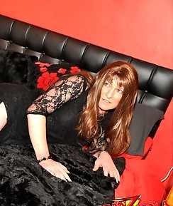 This horny crossdresser is inviting you to her bedroom for some fun