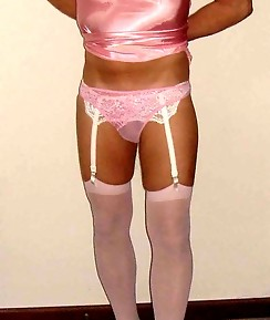 Various shots of horny pantie boyz in lingerie